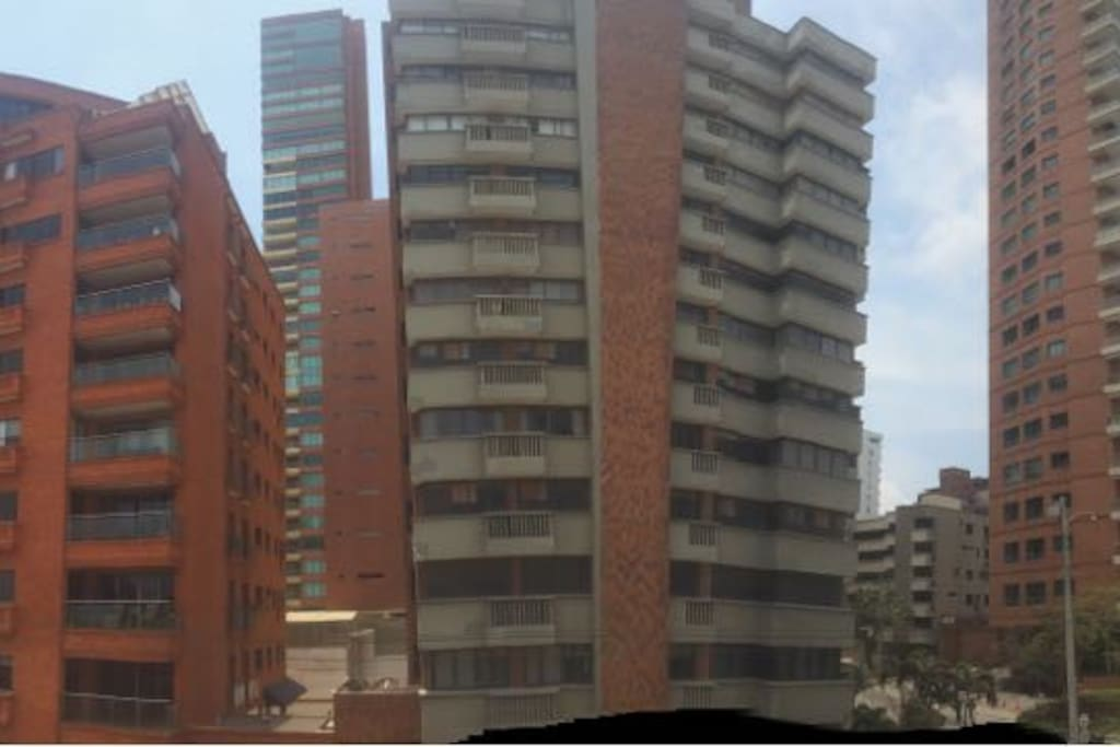 Edificios de la zona