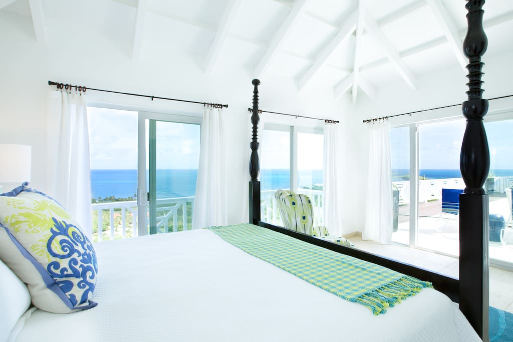 Imagine waking up to this amazing view from your king size bed