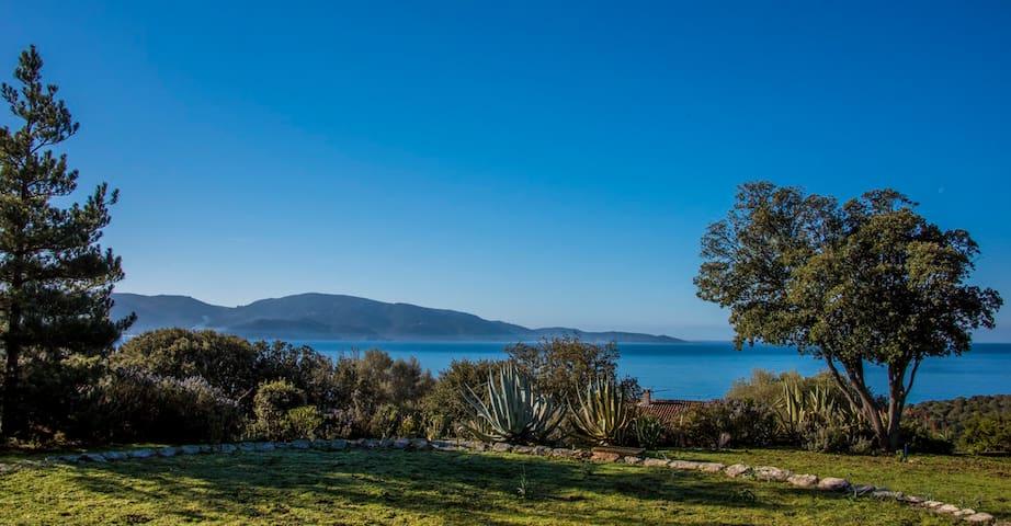 Villa 8 pers vue mer plage à 400m - Olmeto - วิลล่า