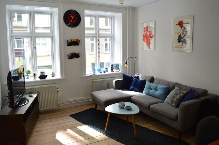 Cozy 3 room apartment in the heart of Nørrebro
