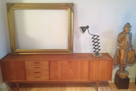 Stylish deco big terrace king bed fully equipped - Woluwe-Saint-Pierre
