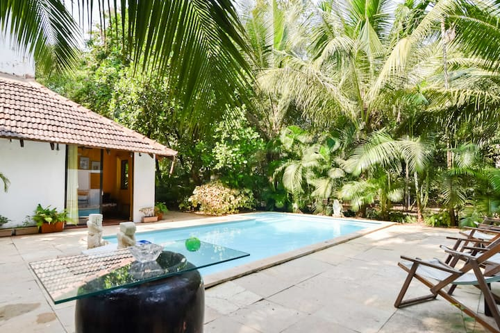 2BHK Boutique Villa with Pool - by ALIBAG BEACH