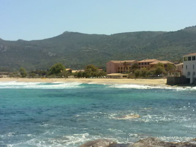T3 à 30 mètres de la plage !!! - Algajola - Byt