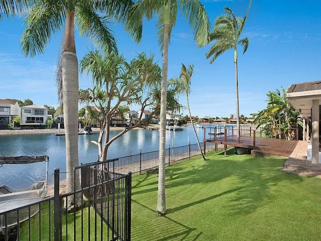 The Palms Mooloolaba Waterfront Home