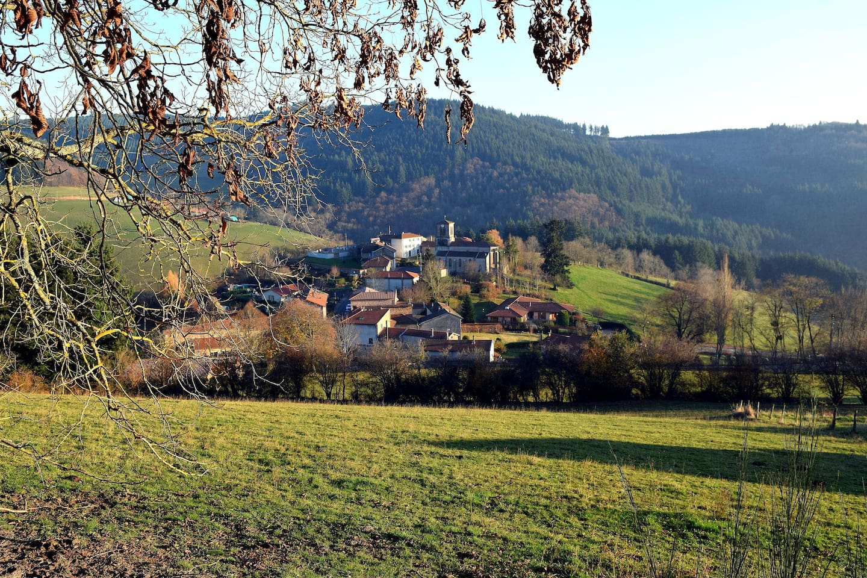 Le village de  Saint Appolinaire