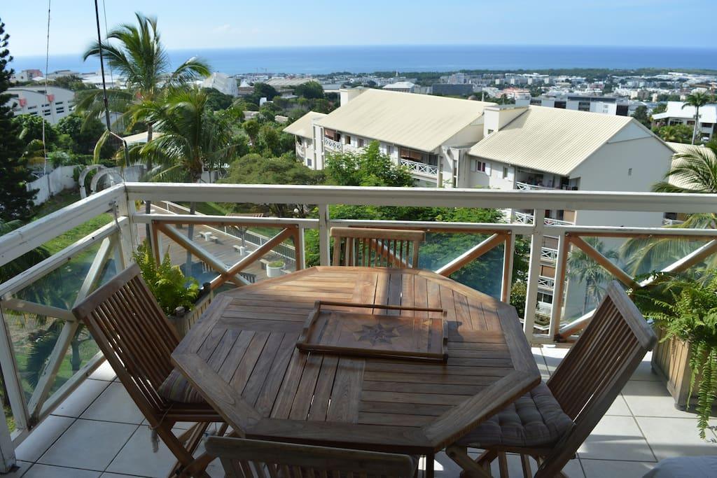 Le balcon un espace à vivre et la vue