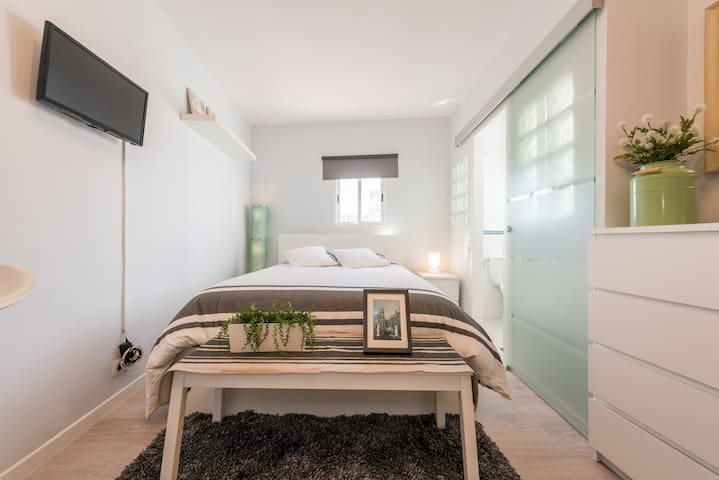 Sunny studio in the heart of Madrid - Madri