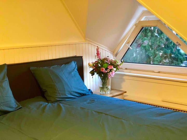 5 pers appartement met 3 slaapkamers en woonkamer