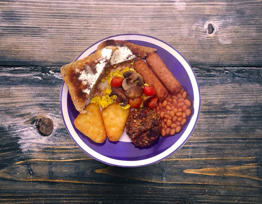The Big Yin - Full Vegan Breakfast