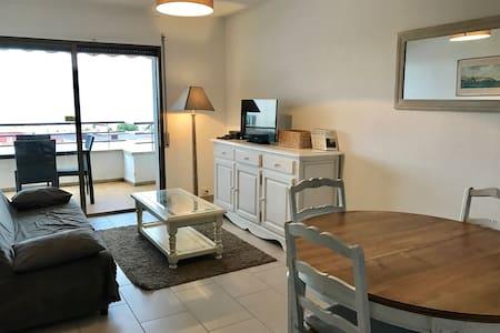 Appt T3 terrasse vue mer ( D1 ) - Roses - 公寓