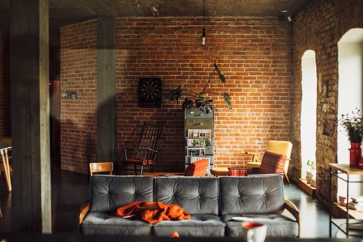 Klimatyczny dom w stylu loft
