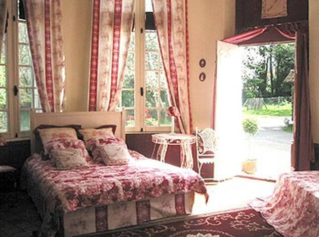Chambre Carpe Diem dans un chateau