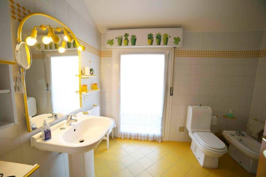 Bagno privato esclusivo della camera