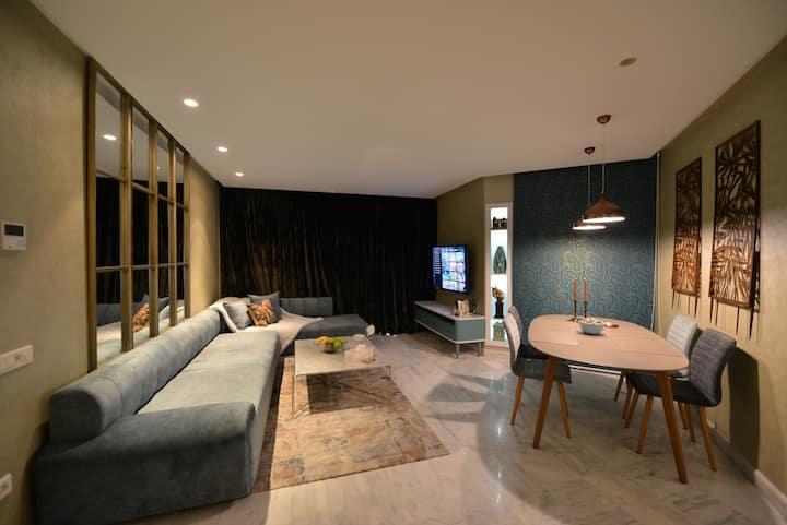 appartement centre casablanca studio luxe terrasse