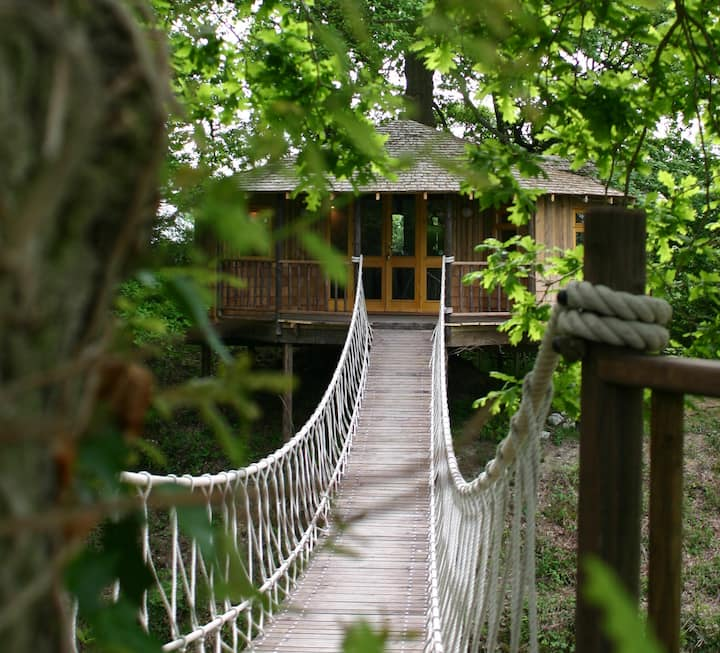 Bensfield Treehouse, Luxury Sussex Unique Stay