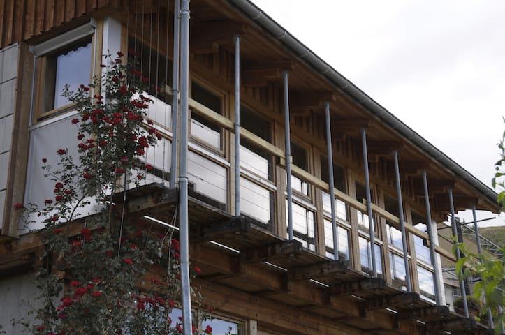 maison bioclimatique Alpes du Sud - Jarjayes - House