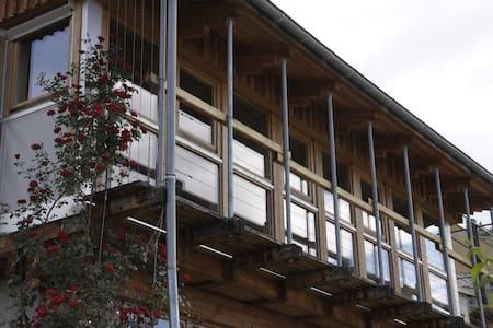maison bioclimatique Alpes du Sud - Jarjayes