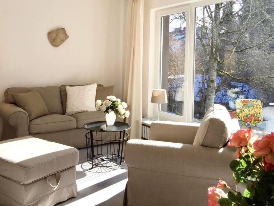 Wohnzimmer im Winter 1