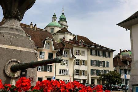Antiker Charme, moderner Komfort - Solothurn - Apartmen