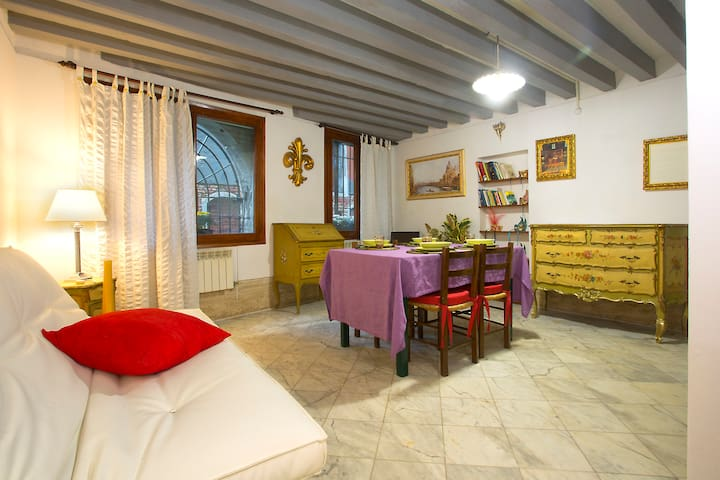 Cozy apartment with canal view - Venetië - Appartement