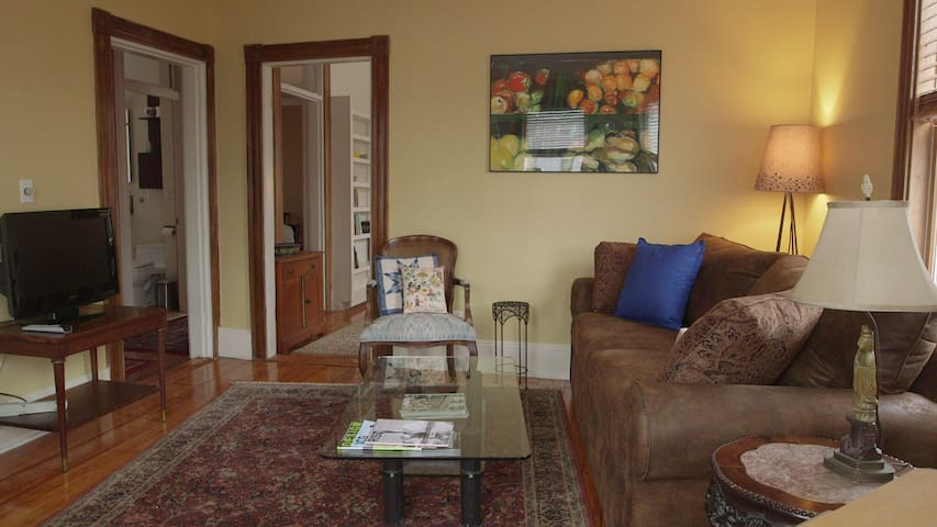 Lovely apt easy walk to Harvard Sq - Cambridge - Appartement