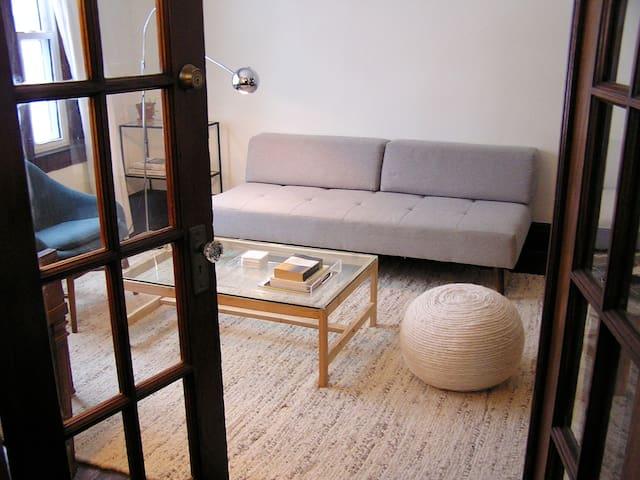 Room #1 in Minimalist Modern Oasis on Exchange St