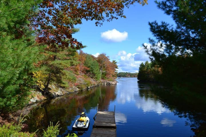 Private Waterfront Cottage For Rent By Owner - Gravenhurst - Srub