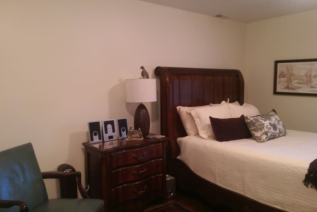 Spacious 14' X 20' Bedroom