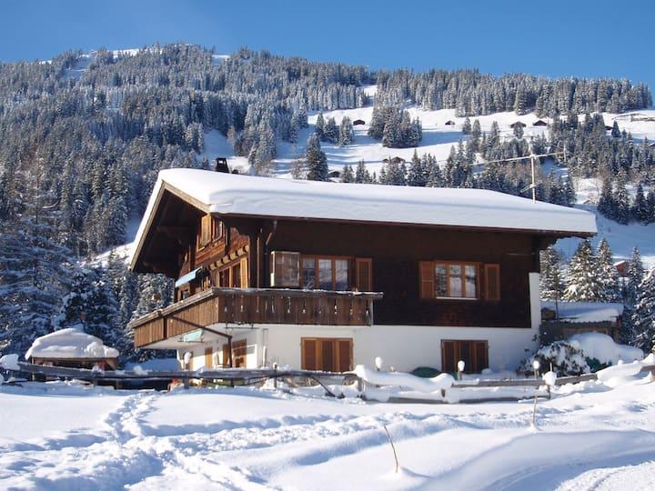 Chalet-Westgrat-Adelboden Swiss-Alps 2-4 Personen