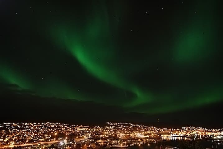 Aurora Borealis over Harstad