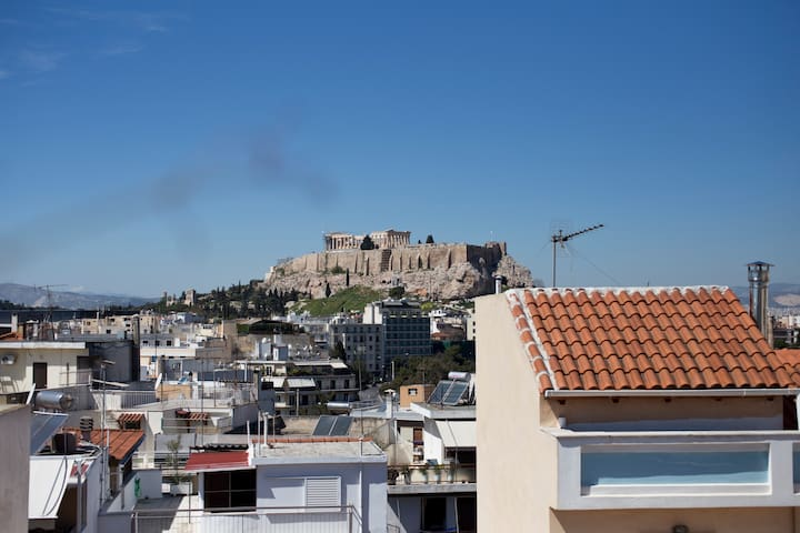 Apartment with Acropolis view - Athina - Apartemen