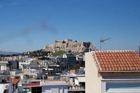 Apartment with Acropolis view - Athina - Lejlighed