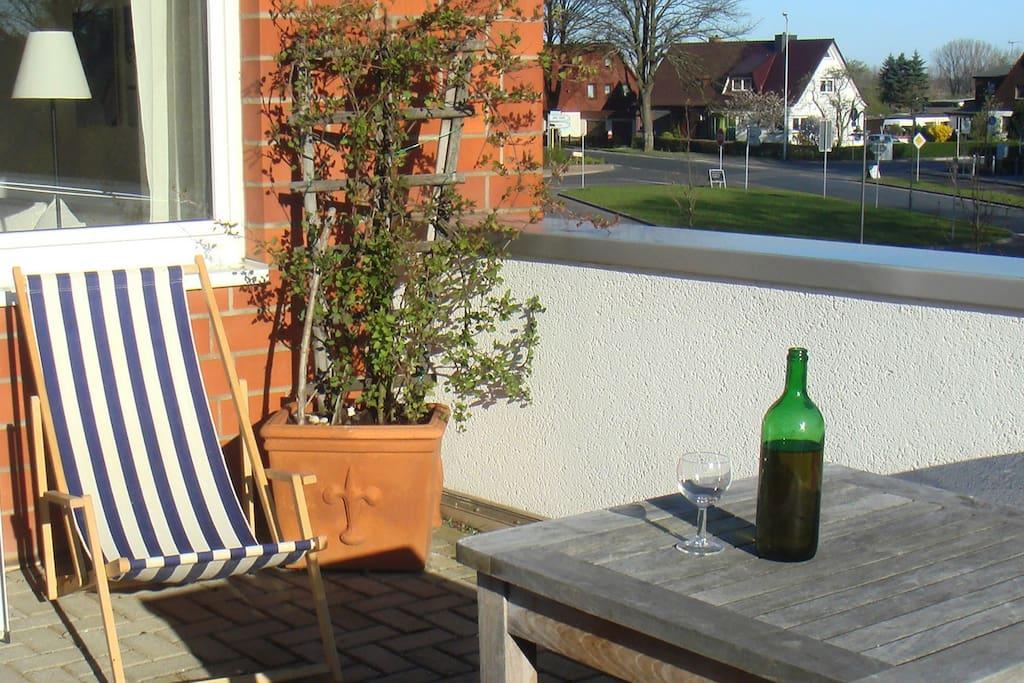 Genießen auf der Terrasse