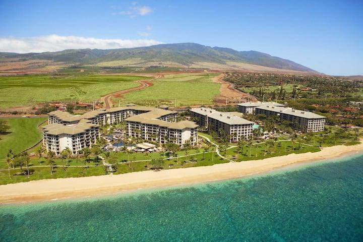 Maui-Kaananapali paradise beach studio