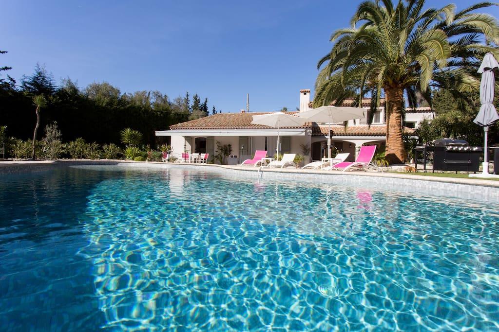 Belle villa piscine maisons louer le cannet france for Villa piscine france