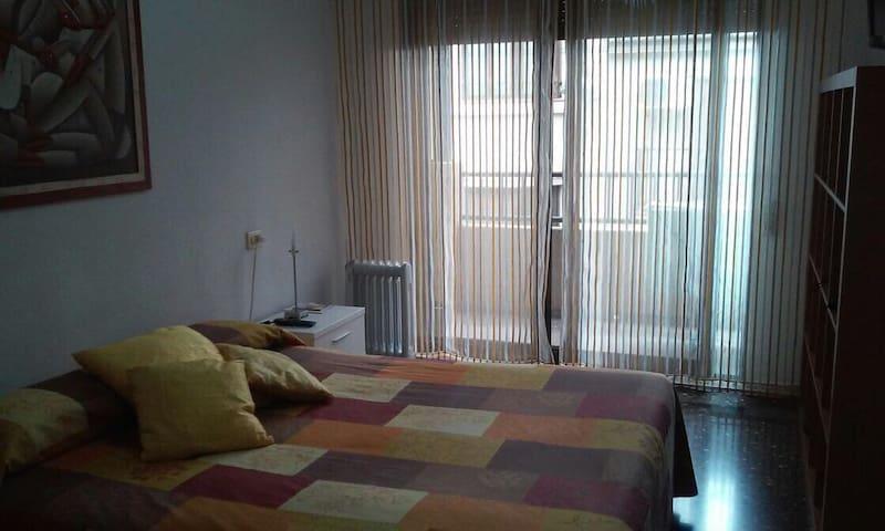 Habitación Soleada, en El Centro - Castelló de la Plana - Apartamento
