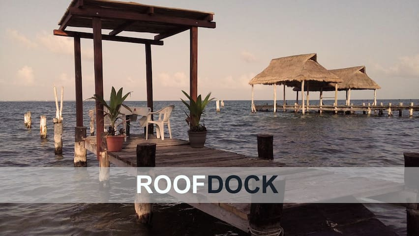 Private  Guest Village, Private Dock