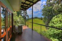 Veranda with view