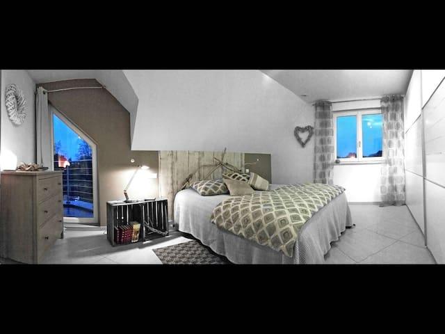 Nice room near Basel and airport