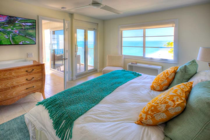 Wake up to breathtaking views from the master bedroom