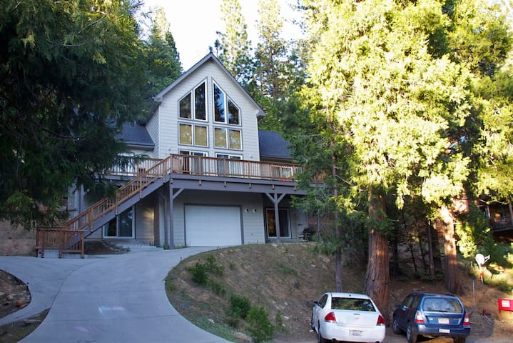 Two bedroom & large loft Yosemite - YOSEMITE NASJONALPARK - Hus