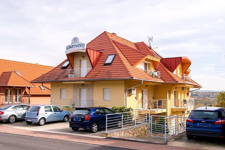 Charming 1000 Home Apartments - Hévíz - Betjent leilighet