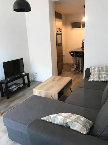 Appartement 41m² refait à neuf au coeur du village - Cauterets