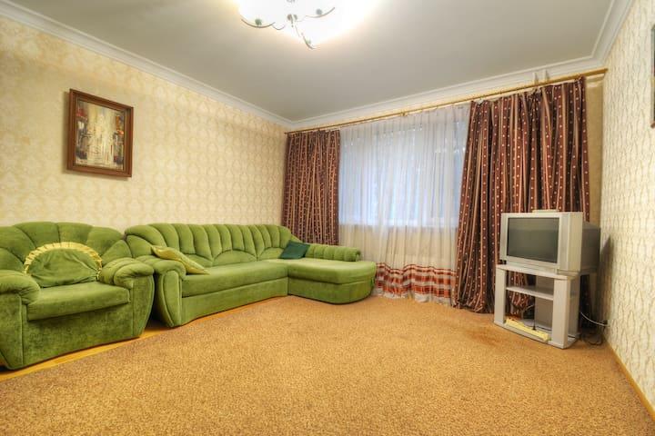 Квартира возле метро Митино в классическом стиле - Moskva - Appartement