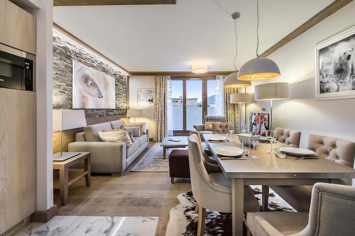 Carré Blanc 371: 3 rooms with contemporary atmosphere