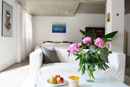 Modernes Loft, Troisdorf Bestlage - Troisdorf - ห้องเพดาน
