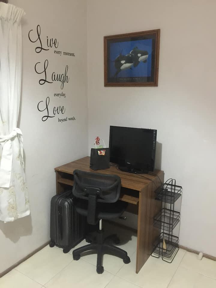 Private Room in quiet corner of home