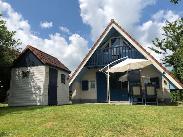 In  Friesland bij Lauwersmeer met prachtige natuur