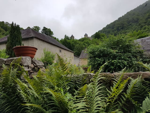 Vue sur le Château D'ustou