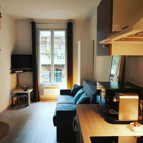 Studio centre de Levallois / Paris - Levallois-Perret - Appartement